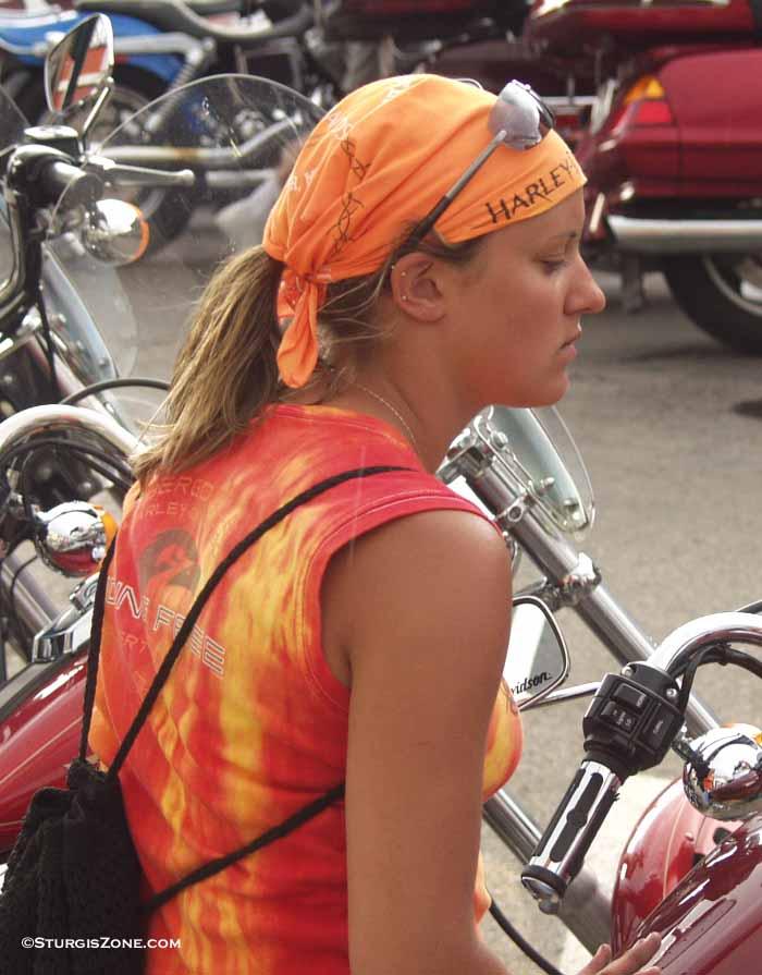 Sturgis Women On Harley s