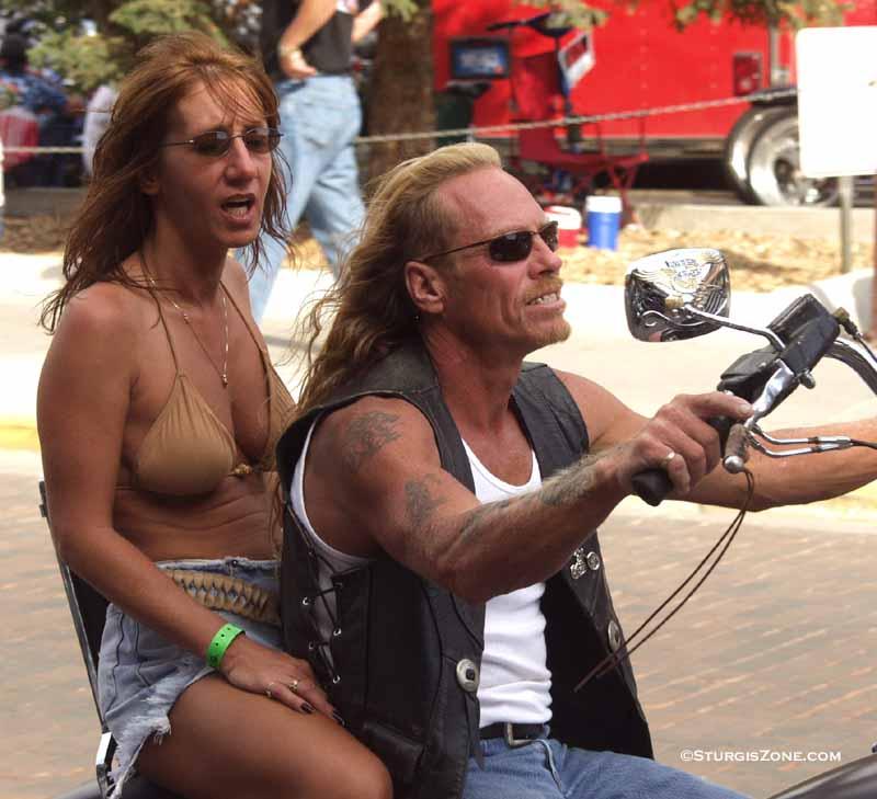 Rally babes 2009 Biker naked
