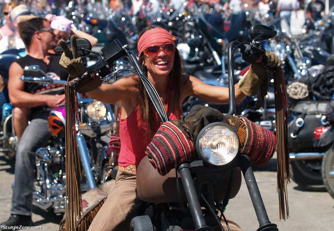 Sturgis Bike Rally Girls