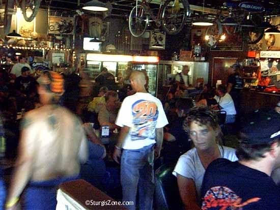 Sturgis bar scene
