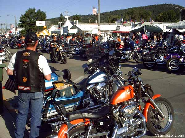 Looking at the Sturgis Scene