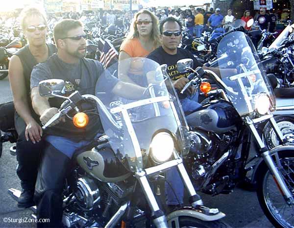 Sturgis biker couples