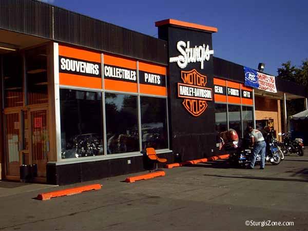 Harley Davidson in Sturgis