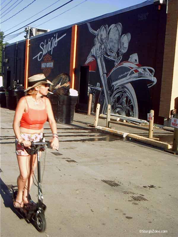 Sturgis women wants Harley