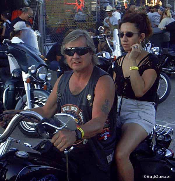 Sturgis Rally biker couple