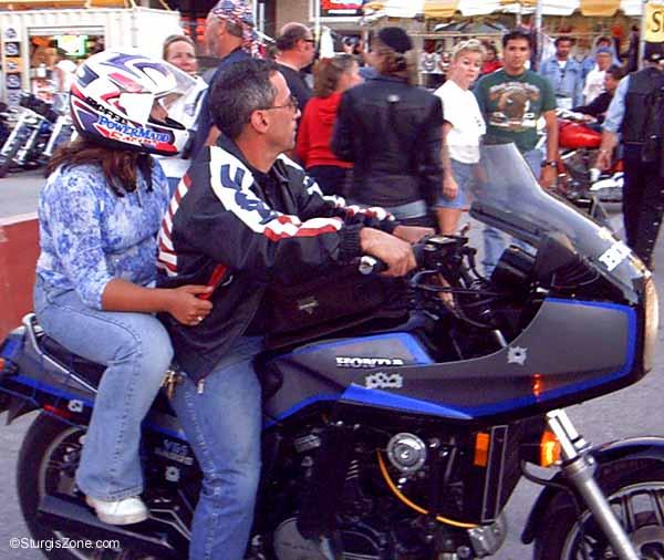 Sturgis Rally Honda Riders