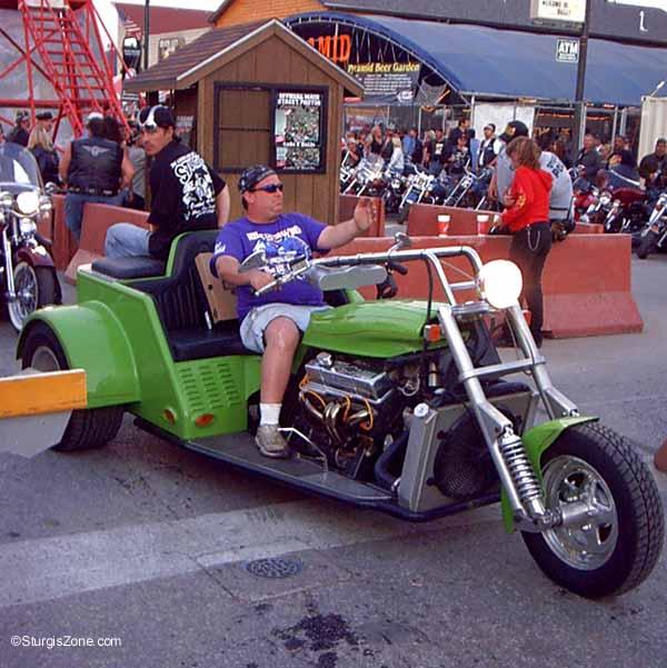 Sturgis Rally bike