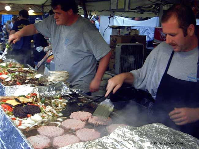 Sturgis Rally Burger Fry Cooks