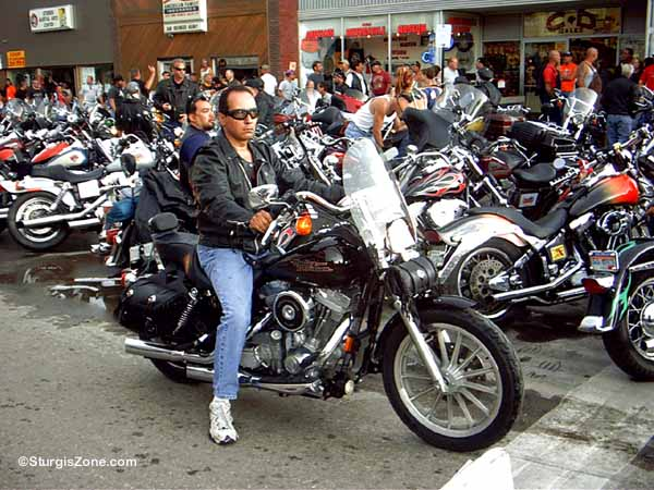 Sturgis Rally Harley rider