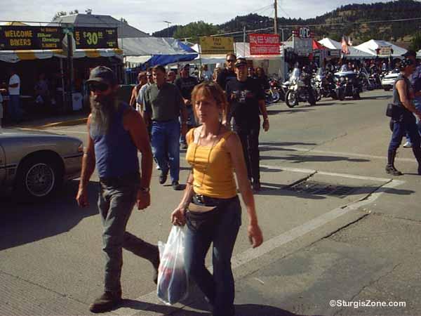 Sturgis Rally woman