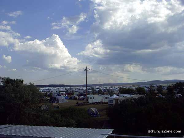 Buffalo Chip Campground camping