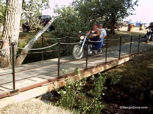 Buffalo Chip Campground Bridge