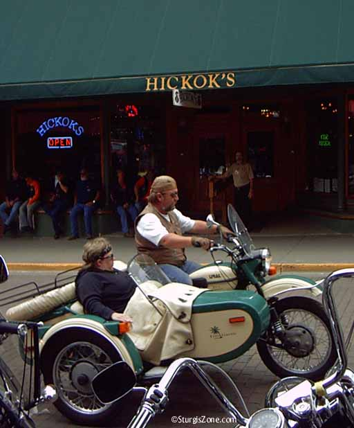 Sturgis Rally by Hickock's in Deadwood