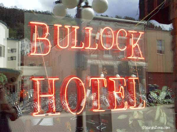 Bullock Hotel in Deadwood