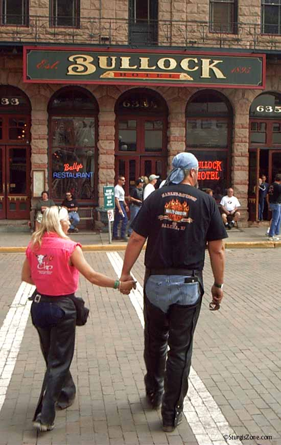 Walking Deadwood at the Sturgis Rally