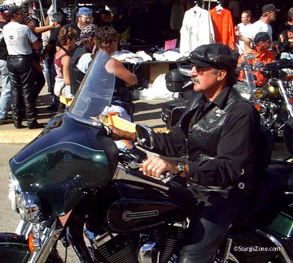Sturgis Rally Leather cap biker