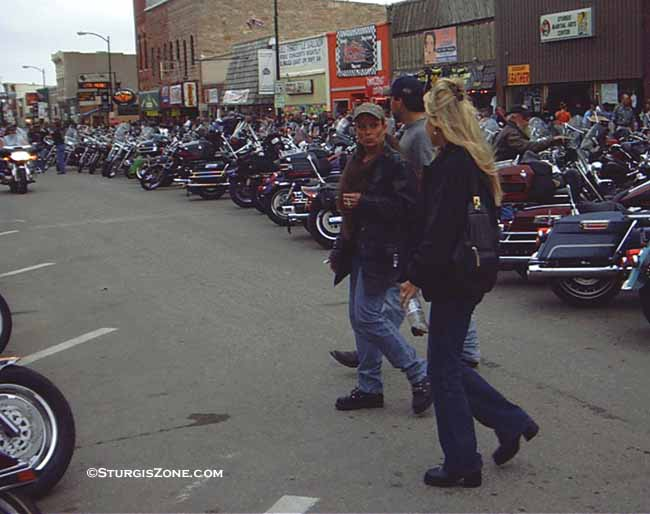 Sturgis pictures group of women