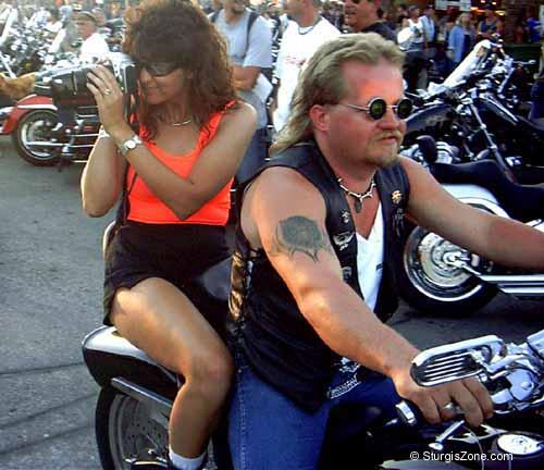 No Panties Day at Sturgis Motorcycle Rally