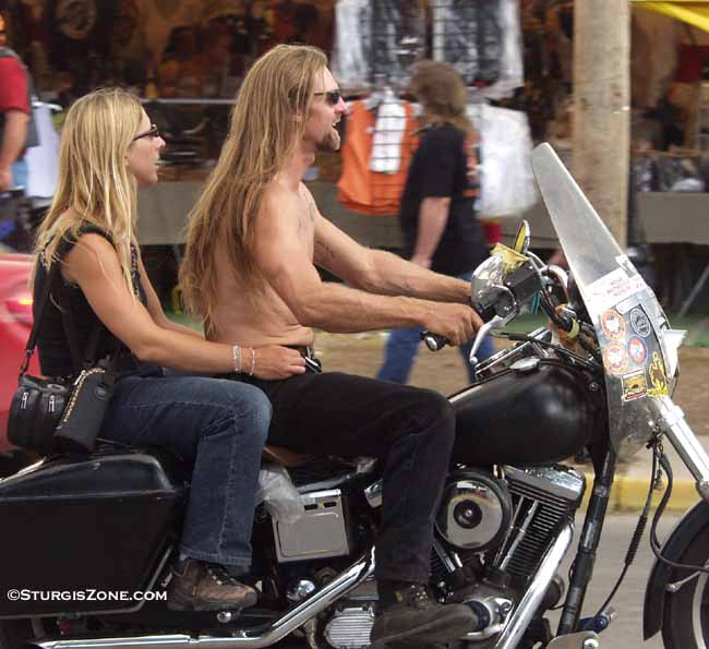 Women of Sturgis Bike Rally Photos